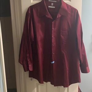 Geoffrey Beene 20 34/35 Long Sleeve Dress Shirt
